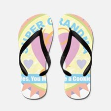 Super Grandma Flip Flops