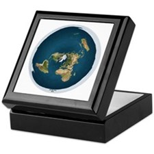 Cute Earth Keepsake Box