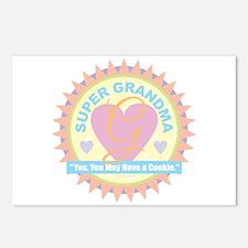 Super Grandma Postcards (Package of 8)