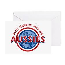 Aussie Dads Greeting Card