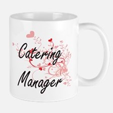 Catering Manager Artistic Job Design with Hea Mugs