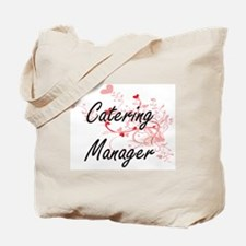 Catering Manager Artistic Job Design with Tote Bag