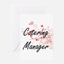 Catering Manager Artistic Job Desig Greeting Cards