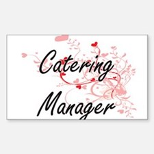 Catering Manager Artistic Job Design with Decal