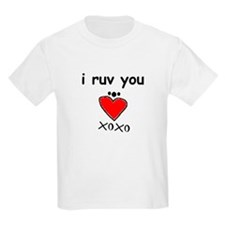 i ruv you T-Shirt