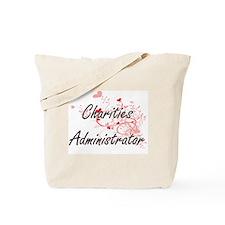 Charities Administrator Artistic Job Desi Tote Bag