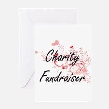 Charity Fundraiser Artistic Job Des Greeting Cards