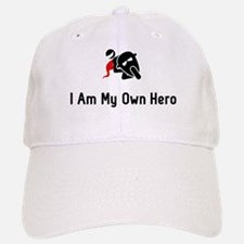 Biking Hero Baseball Baseball Cap