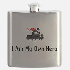 Acupuncture Hero Flask