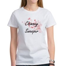 Chimney Sweeper Artistic Job Design with H T-Shirt