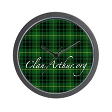 Clan Arthur - Just Tartan Wall Clock