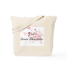 Civil Service Administrator Artistic Job Tote Bag