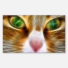 Artistic Cat Decal