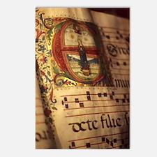 Medieval Manuscript Postcards (Package of 8)