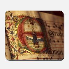 Medieval Manuscript Mousepad