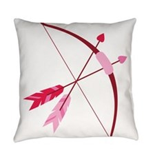Cupid Bow And Arrow Everyday Pillow
