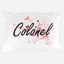 Colonel Artistic Job Design with Heart Pillow Case