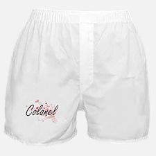 Colonel Artistic Job Design with Hear Boxer Shorts