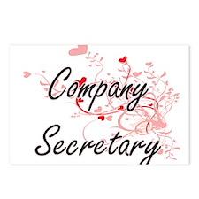 Company Secretary Artisti Postcards (Package of 8)