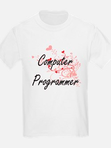 Computer Programmer Artistic Job Design wi T-Shirt