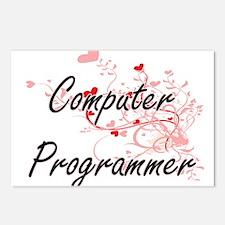 Computer Programmer Artis Postcards (Package of 8)