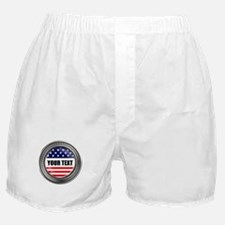 Your custom USA Button Boxer Shorts