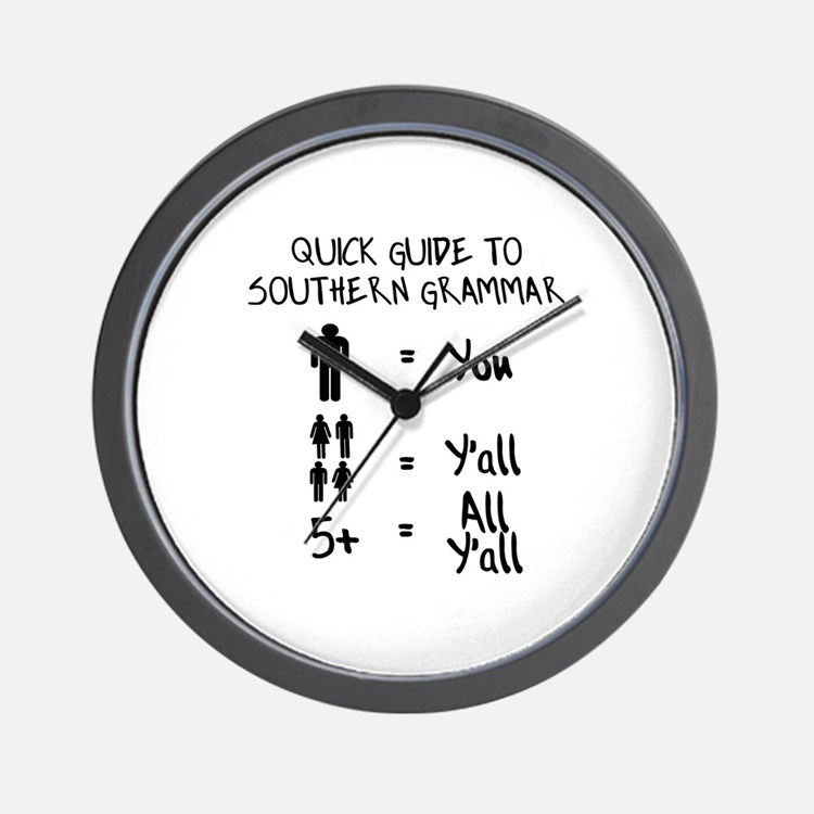 Cute Southern Wall Clock