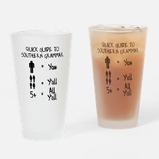 Funny Southern Drinking Glass