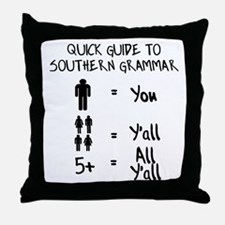 Funny Southern Throw Pillow