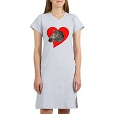 Cute Wombat Women's Nightshirt