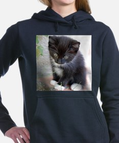Cat003 Women's Hooded Sweatshirt