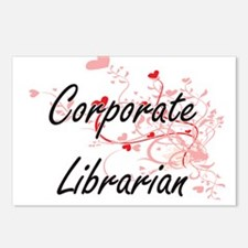Corporate Librarian Artis Postcards (Package of 8)