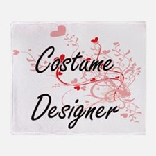 Costume Designer Artistic Job Design Throw Blanket