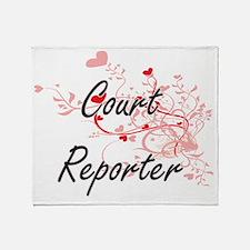 Cute Agencies Throw Blanket