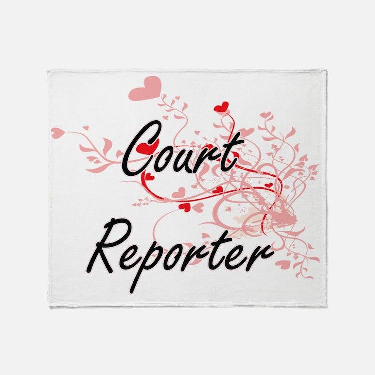 Cute Agency Throw Blanket