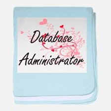 Database Administrator Artistic Job D baby blanket