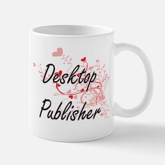 Desktop Publisher Artistic Job Design with He Mugs