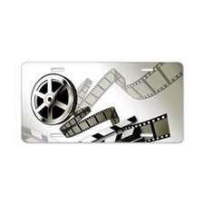 Retro Film Frames Aluminum License Plate