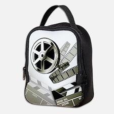 Retro Film Frames Neoprene Lunch Bag