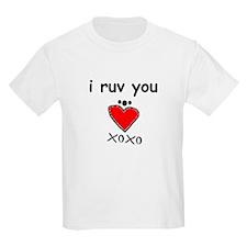 i ruv you T-Shirt