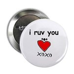 i ruv you Button