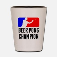Beer Pong Champion Shot Glass