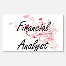 Financial Analyst Artistic Job Design with Decal