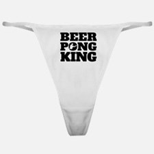 Beer Pong King Classic Thong