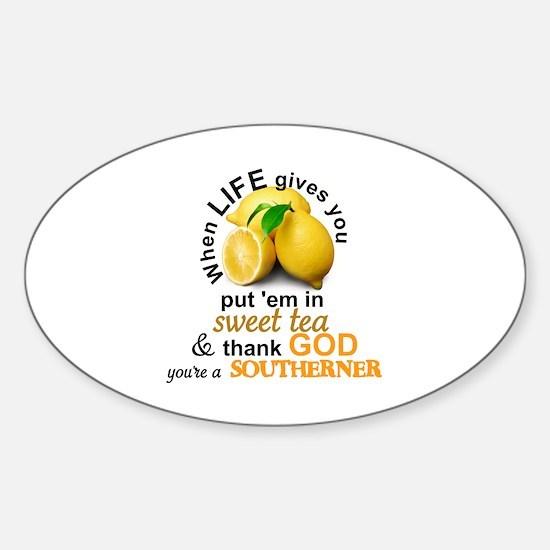 Cute Sweet Sticker (Oval)