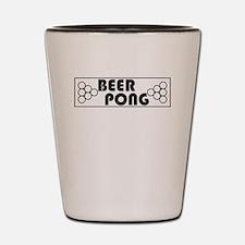 Beer Pong Table Shot Glass