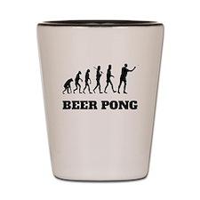 Beer Pong Evolution Shot Glass