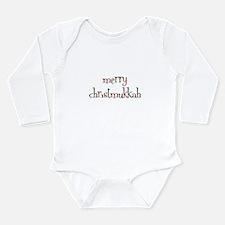 Unique Christmukkah Long Sleeve Infant Bodysuit