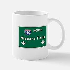 Niagara Falls, NY Road Sign, USA Mug