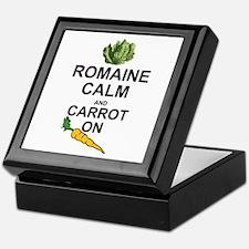Cute Carrots Keepsake Box